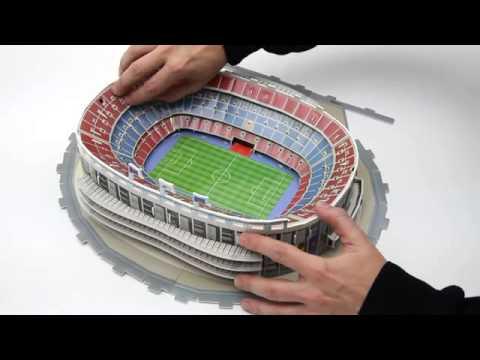3D-Puzzle Nanostad: Nou Camp Barcelona