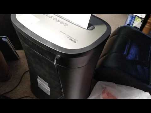 Review – Royal HG12X Paper Shredder