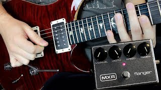 The 8 Best Flanger Guitar Moments Ever