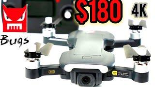 MJX Bugs B7 4K Camera Drone with GPS - $180 4K drone