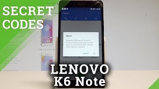 Lenovo k6 note hard reset