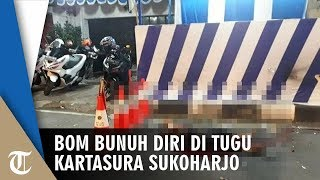 BREAKING NEWS! Bom Bunuh Diri di Pos Polisi Tugu Kartasura Solo