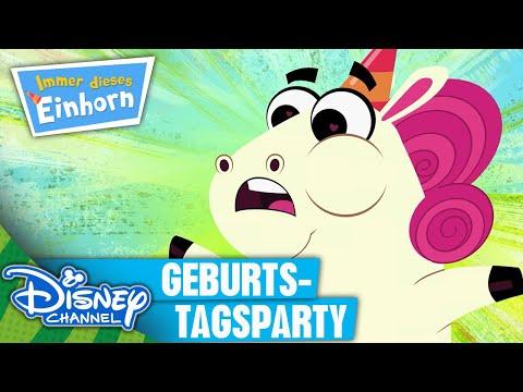 IMMER DIESES EINHORN - Clip: Geburtstagsparty | Neu im Disney Channel