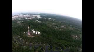 preview picture of video 'Bontang Aerial Video From My Home At PT Badak NGL'