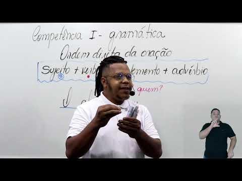 Aula 05 | Competência I: Como Encontrar o Sujeito da Oração - Parte 01 de 03 - Redação