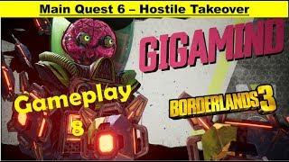 Borderlands 3 Main Quest - Hostile Takeover - Gameplay Walkthrough Part 8