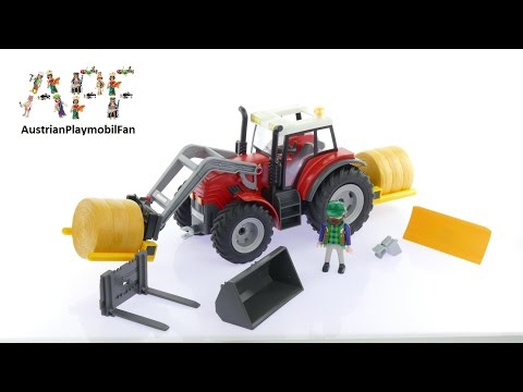 Vidéo PLAYMOBIL Country 6867 : Grand tracteur agricole