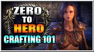 Elder Scrolls Online Academy - Crafting 101 Guide - Zero to Hero Episode 3