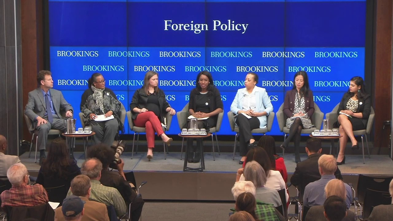 Panel I: US voting and US foreign policy: Regional focus