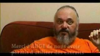 Hagondange: Ange à la  passerelle de Florange, le  28 mai 2005, interview Christian Décamps