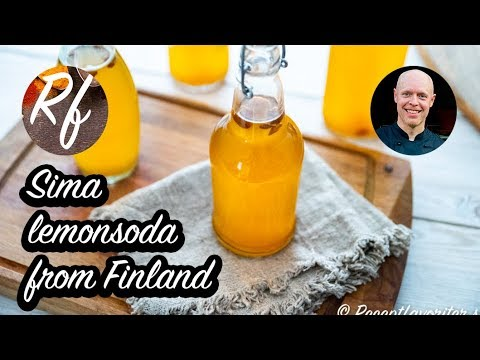Sima is a Finnish lemonsoda. A soft drink from Finland with lemon, brown sugar and yeast. >