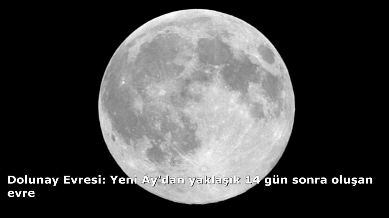 Ay Hakkında Kısa Bilgiler ve Ayın Evreleri