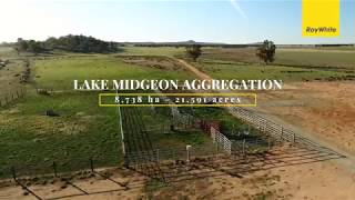 Lake Midgeon Aggregation, Narrandera - SOLD