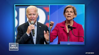 Biden, Warren Face Off For First Time | The View