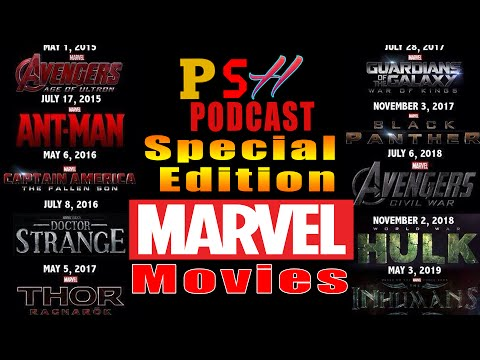 Press Start Hub Podcast Special Edition Marvel Movies Announcement