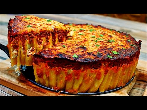 Cheesy Pasta Pie Recipe – Delicious Italian Pasta Recipe