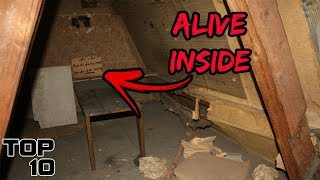 Top 10 Scary Messages Found In Attics