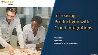 Increasing Productivity with Cloud Integrations