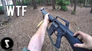 Scaring the @#$% out of Players with Ultra Realistic Vietnam M16 Rifle!
