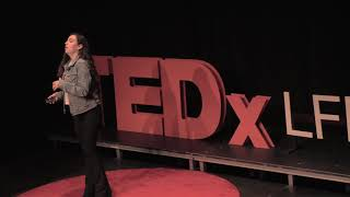 How I became comfortable with being uncomfortable | Bella Watters | TEDxLFHS