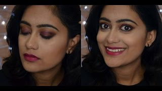 Image for video on Cranberry Smokey eyes | New Year/ New year's eve makeup look | TheNailz4fun by nailz4fun