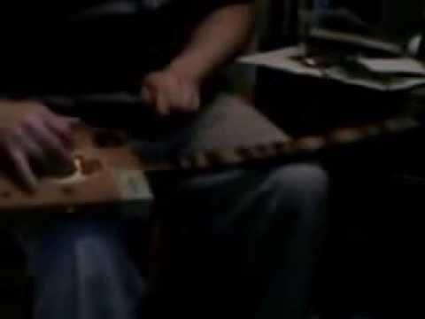TwangLand Royal Jamaica Cigar Box Diddley Bo Guitar Blues Demo