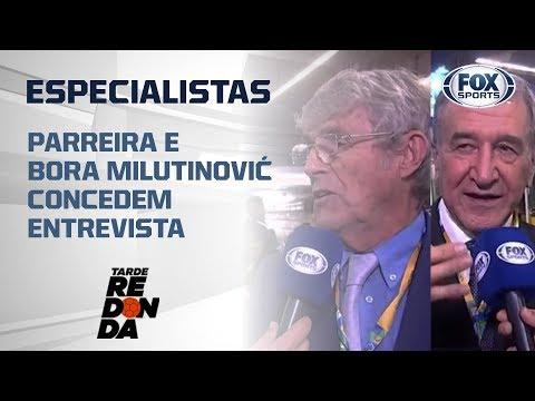 ESPECIALISTAS EM COPA DO MUNDO! Parreira e Bora Milutinović concedem entrevista ao FOX Sports