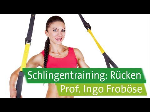 TRX Schlingentraining für Anfänger mit Prof. Ingo Froböse: Rücken