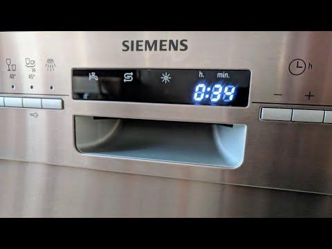 Siemens iQ500 SN46P582EUspeedMatic Geschirrspüler / Spülmaschine Unterbaugerät - Edelstahl - 60 cm