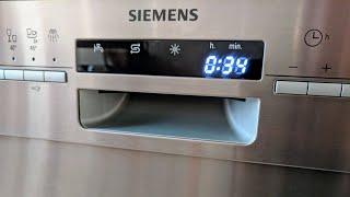Siemens iQ500 SN46P582EU speedMatic Geschirrspüler / Spülmaschine Unterbaugerät - Edelstahl - 60 cm
