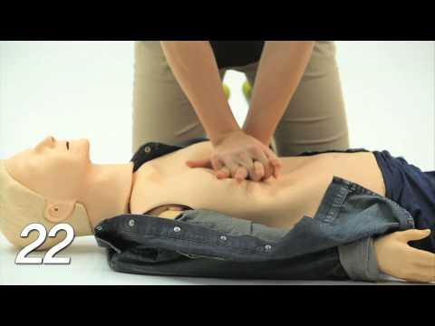 표준 심폐소생술 교육 동영상 (기초 2단계)