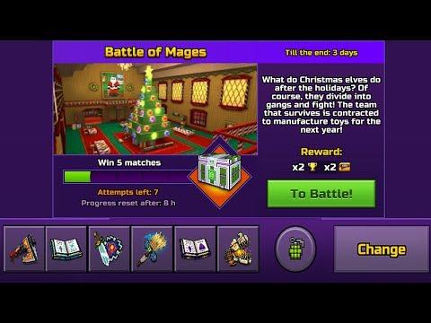 Pixel Gun 3D - Battle of Mages [Toy Factory]