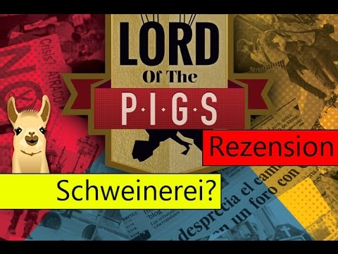 The Lord of the P.I.G.S. / SpieLama-Rezension