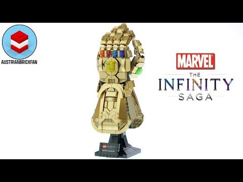 Vidéo LEGO Marvel 76191 : Le Gant de l'infini