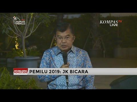 [EKSKLUSIF] Wapres Jusuf Kalla Bicara Pelaksanaan Pemilu 2019