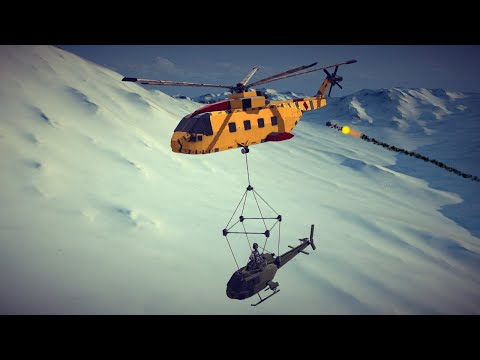 Helicopter Crashes, Shoot Downs, Midair Collisions and More #6   Besiege