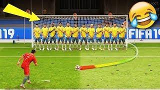 Best FIFA 19 FAILS ● Glitches, Goals, Skills ● #5