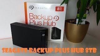 Seagate STEL8000200 Backup Plus Hub 8 TB Externe  Festplatte Unboxing