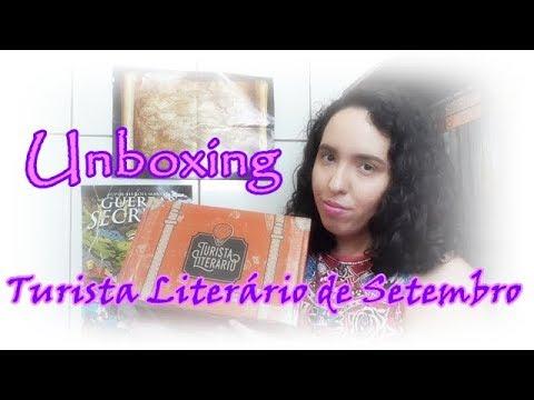 Unboxing Turista Literário de Setembro (2017)  Um Livro e Só