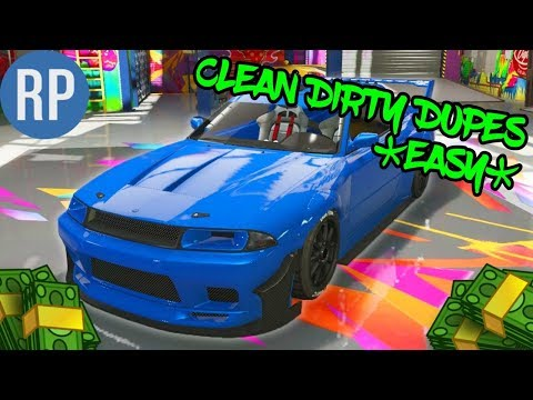 CLEAN DIRTY DUPES *SUPER EASY AND FREE* GTA ONLINE PATCH 1.40