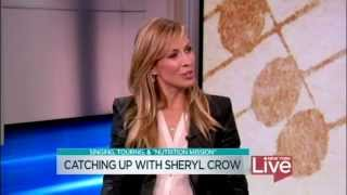 Sheryl Crow on New Music & Feeding America (New York Live - 1 May 2013)