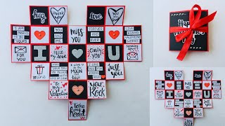 Beautiful Handmade Valentine's Day Card Idea||Diy Greeting Cards For Valentine's Day