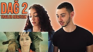 DAĞ II 🇹🇷 Turkish Movie Trailer Reaction | Jay & Rengin