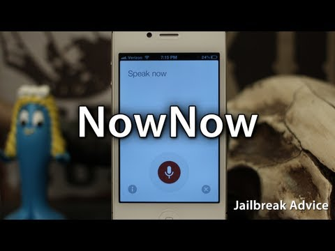 NowNow Creates A Shortcut For Google Voice Search On Jailbroken iPhones