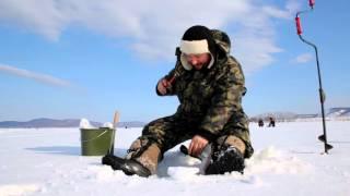Зимняя рыбалка на водохранилище нугуш