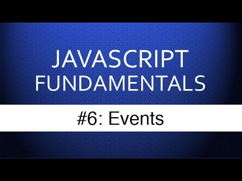 Javascript Events Tutorial – How Web Developers Respond to User Input