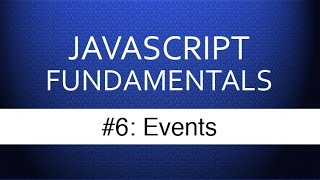 Download Youtube: Javascript Events Tutorial - How Web Developers Respond to User Input