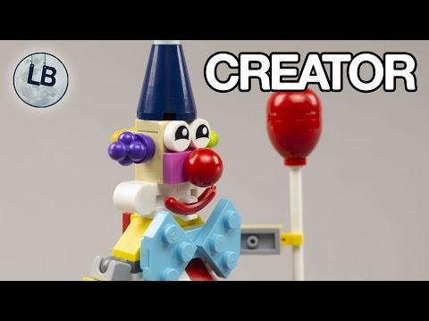 Vidéo LEGO Creator 30565 : Le clown danniversaire (Polybag)