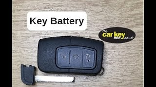 Ford Key Fob Battery Replacement How To Change Replace