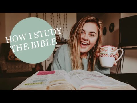 how i study the bible || In Depth Bible Study || Job 1 || Grief & Loss
